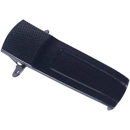 "Midland Radio BizTalk BR200 Radio Belt Clip - 0.3"" Length x 0.5"" Width - for Radio - 1Each - Black"