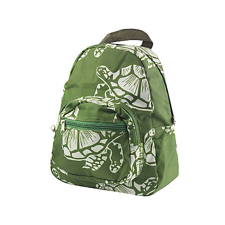 Zodaca Stylish Kids Small Backpack Outdoor School Shoulder, Turtle