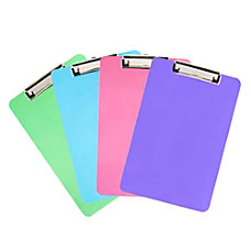 JAM Paper Letter Size Clipboards With