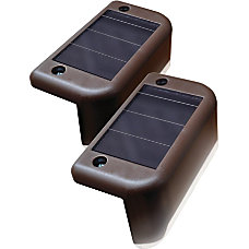 Maxsa Solar Deck Light 4 pack