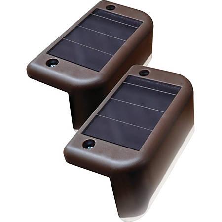 Maxsa Solar Deck Light - 4 pack