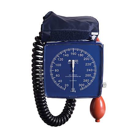 MABIS Legacy Series Clock Blood Pressure Gauge With Adult Cuff