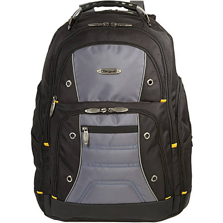 "Targus Drifter TSB238US Carrying Case (Backpack) for 16"" Notebook - Black, Gray"