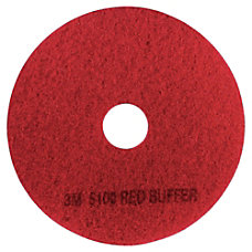 3M 5100 Buffer Pads 13 Red