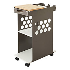 Safco 2 Shelf Mobile Cart With
