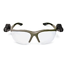 3M LightVision Safety Glasses Gray Frame