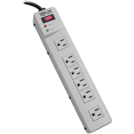Tripp Lite Protect It! 6-Right Angle Outlet Surge Suppressor