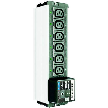 Vertiv MPX Rack PDU Branch Receptacle Module - North America, Elementary, Seven IEC-C13 receptacles, Line L1 to L2, 208-240VAC (MPXBRM-NEBD7N12) - 7 x IEC 60320 C13 - Vertical - Rack Mount
