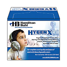 HamiltonBuhl HygenX Disposable Ear Cushion Covers