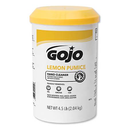 Lemon Pumice Hand Cleaners, Lemon, Cartridge, 4 1/2 lb