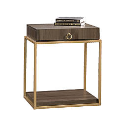 Sauder International Lux Square Side Table