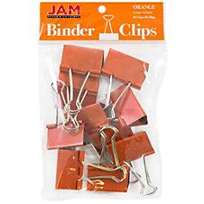 JAM Paper Designer Binder Clips Large