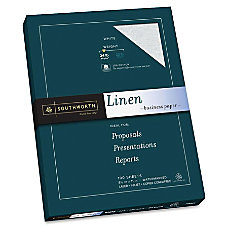 Southworth 25percent Cotton Linen Business Paper