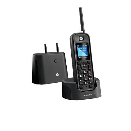 Motorola® O2 Series Digital Cordless Phone With Digital Answering Machine, MOTO-O211