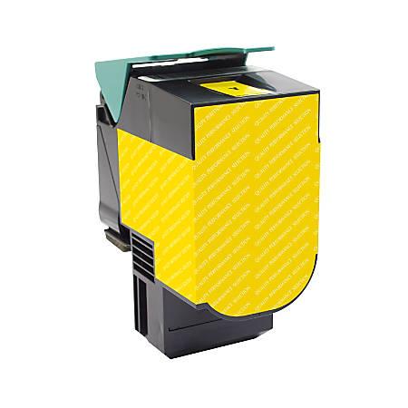 Clover Imaging Group Remanufactured High-Yield Toner Cartridge, Yellow, 200698 (Lexmark™ C540H1YG / C540H2YG)
