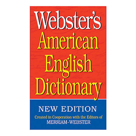 Federal Streets Press Webster's American English Dictionaries, Pack Of 6