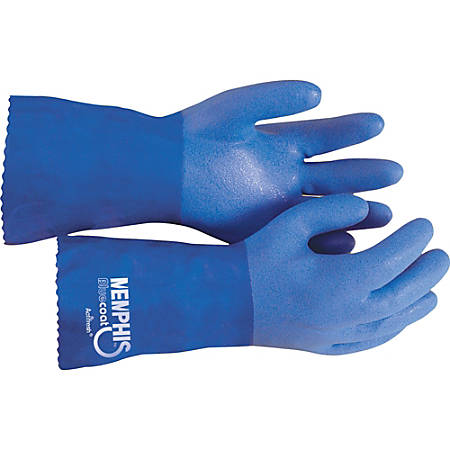 R3® Safety Blue Coat Seamless Gloves, Box Of 1 Pair