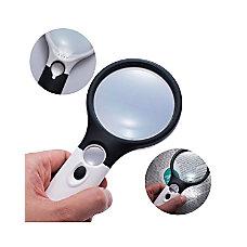 Insten 3x Handheld Magnifying Magnifier Glass