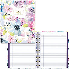 Blueline MiracleBind Passion Collection Notebook Floral
