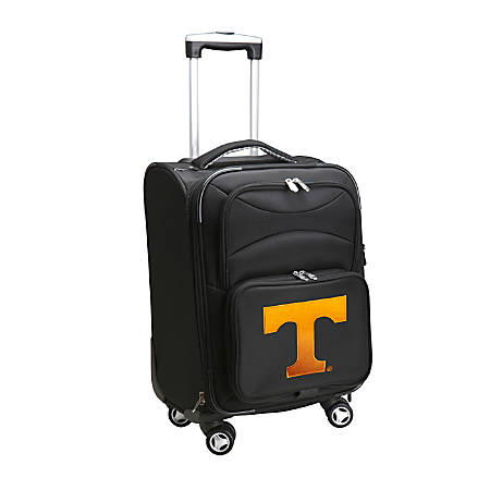 "Denco Sports Luggage Expandable Upright Rolling Carry-On Case, 21"" x 13 1/4"" x 12"", Black, Tennessee Volunteers"