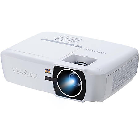 Viewsonic PX725HD 3D Ready DLP Projector - 16:9 - White - 1920 x 1080 - Front, Ceiling - 1080p - 3500 Hour Normal Mode - 7000 Hour Economy Mode - Full HD - 22,000:1 - 2000 lm - HDMI - USB - 3 Year Warranty