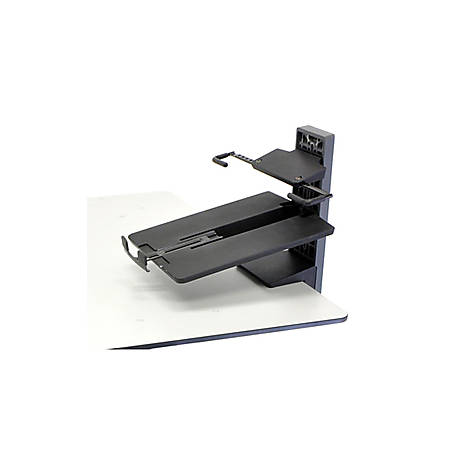 "Ergotron TeachWell 97-585 Desk Mount for Notebook - Graphite Gray - 18.4"" Screen Support - 7.94 lb Load Capacity"