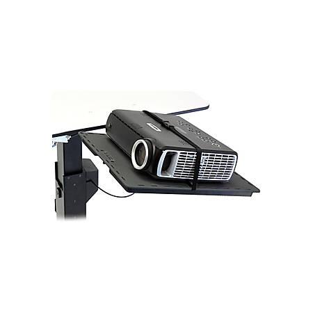 Ergotron TeachWell MDW Projector Shelf - Mounting component (shelf, mount bracket) for projector - graphite gray - for TeachWell Mobile Digital Workspace