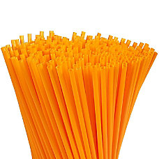 Juvale 300 Pack Plastic Orange Disposable