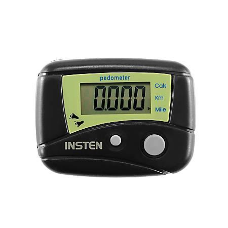 Insten Mini Digital LCD Pedometer, Black