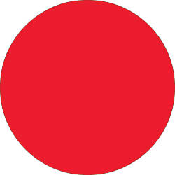 Removable Round Color Inventory Labels DL612G