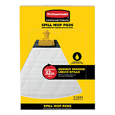 Rubbermaid Spill Mop Pads Refill Pack