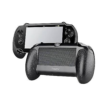 Insten Hand Grip For Sony PlayStation Vita PSVITA PCH-1000, Black