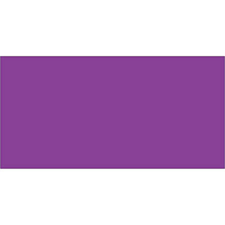 """Tape Logic® Write™On Inventory Labels, DL633M, Rectangle, 3"""" x 6"""", Purple, Roll Of 250"""