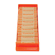 Control Group Coin Trays Quarters Orange