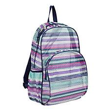 Eastsport Sport Mesh Backpack Candy Stripe