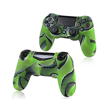 Insten Camouflage Navy Green Skin Case Cover For Sony PlayStation 4 PS4