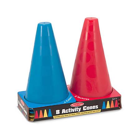 Melissa & Doug Activity Cones, Pre-K - Grade 2, Pack Of 8