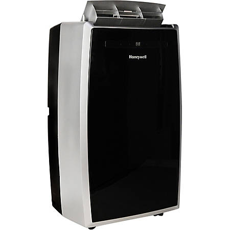 Honeywell MN12CES Portable Air Conditioner - Cooler - 3516.85 W Cooling Capacity - 550 Sq. ft. Coverage - Yes - Black, Silver