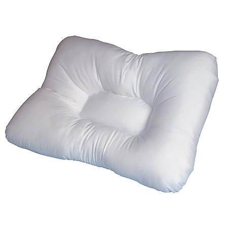 "DMI® Stress-Ease Hypoallergenic Orthopedic Bed Pillow, 17"" x 22"", White"