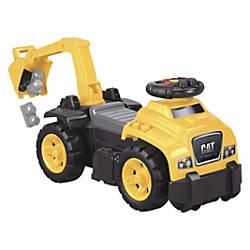 Mega Bloks Ride On CAT Excavator