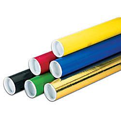 Office Depot Brand Color Mailing Tubes