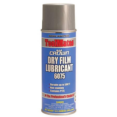Crown Dry Film Lubricant Aerosol Spray, 16 Oz, Pack of 12 Cans