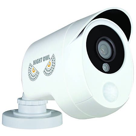 Night Owl CAM-PIRHDA10W-BU 2 Megapixel Surveillance Camera - 1 Pack - Color