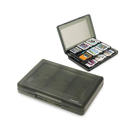 Insten 24-in-1 Game Card Case For Nintendo NEW 3DS, 3DS, DSi, DSi XL DSi LL, 3DS XL LL, DS, DS Lite NDS Game Storage Holder, Smoke