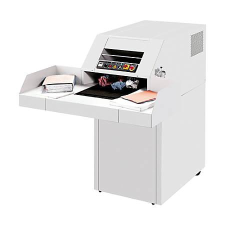 ideal.™ 4107 Shredder, 82 Sheets, Strip-Cut, IDEDSH0328H