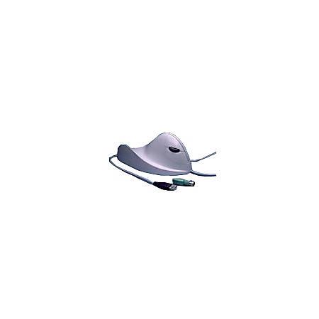 Airo2Bic Ergonomic Left Hand Mouse For PC, Black