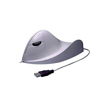 Airo2Bic Ergonomic Left Hand Mouse, White