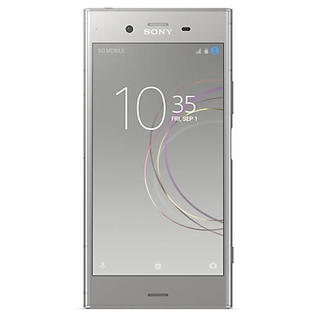Sony® Xperia XZ1 G8432 Cell Phone, Warm Silver, PSN300180