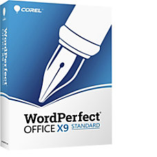 WordPerfect Office X9 Standard Edition Upgrade