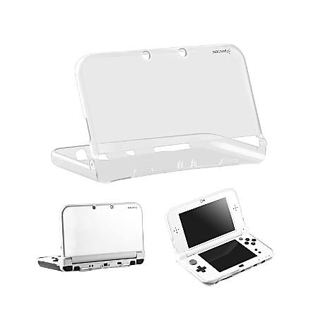 Insten TPU Slim Fit Protective Case Cover For Nintendo New 3DS XL And New 3DS LL, Clear Crystal Transparent